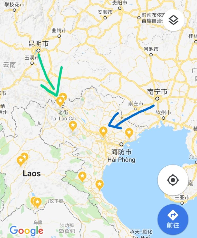 中国ベトナム